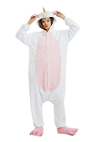 Erwachsene Unicorn Pyjamas Unisex Tiere Pyjamas Cartoon Party Wear Maskerade Cosplay Kostüm