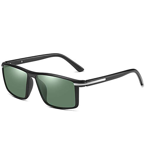 Sport-Sonnenbrillen, Vintage Sonnenbrillen, Square Sunglasses Men Polarized Fashion Gradient Mirror Driving Sun Glasses Uv400