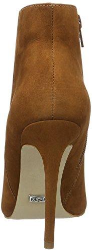 Buffalo Zs 5730-15 Nobuck, Bottes Classiques Femme Marron (Brick 01)