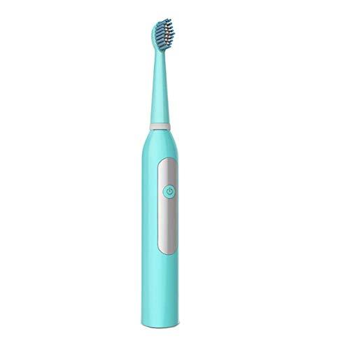 KOSHSHS IPX7 Wasserdichte Elektrische Zahnbürste, 3 Modi Gum Care Kann Ersatzkopf Fit Kind Erwachsenen Haus Oder Reise,Blue