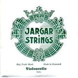 Jargar cordes Violoncelle A (LA) Acier Chrome Dolce Vert 4/4