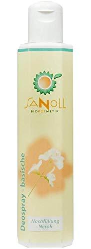 Sanoll, Deo - basisch - Neroli, 200 ml (Nachfüllung)