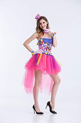 Skelett Kostüm Twin - Halloween Kostüm,Halloween Kostüm Candy Farbe Clown Kostüm Eröffnung Tanz Nachtclub Sänger, Wie Gezeigt, U