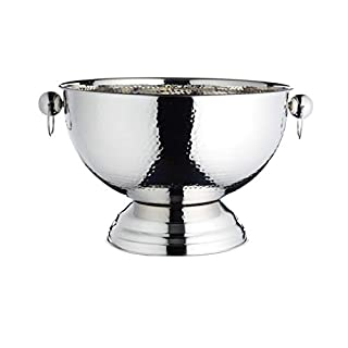 KitchenCraft BarCraft Metal Champagne Cooler/Punch Bowl, 37 x 25 cm