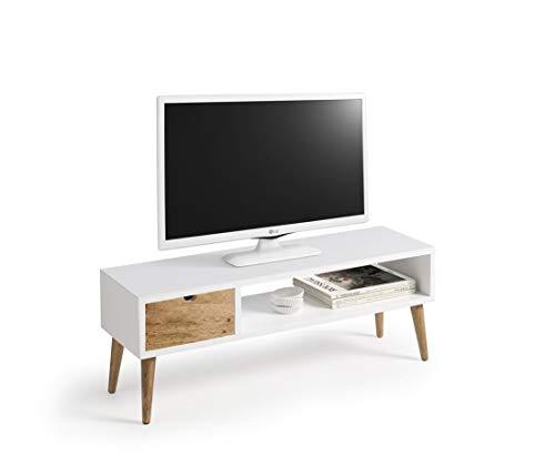 Mesa televisión, Mueble TV salón diseño Vintage