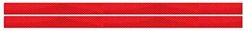 Preisvergleich Produktbild ES-Team RS60040R UvV-Reflex 2 prismatische Reflektoren 600 x 40 mm - rot