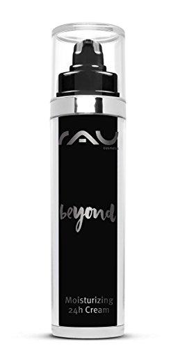 RAU beyond Moisturizing 24h Cream 50 ml - Naturkosmetik Feuchtigkeitscreme für das Gesicht - reich an pflanzlichen Inhaltsstoffen