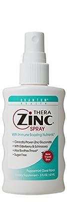Quantum Thera Zinc Spray Peppermint Clove 2 fl.oz by QUANTUM