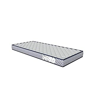 """Amazon Brand - Solimo Essential Quilted  6"""" Single Memory foam Mattress  78*36*6 inches"""