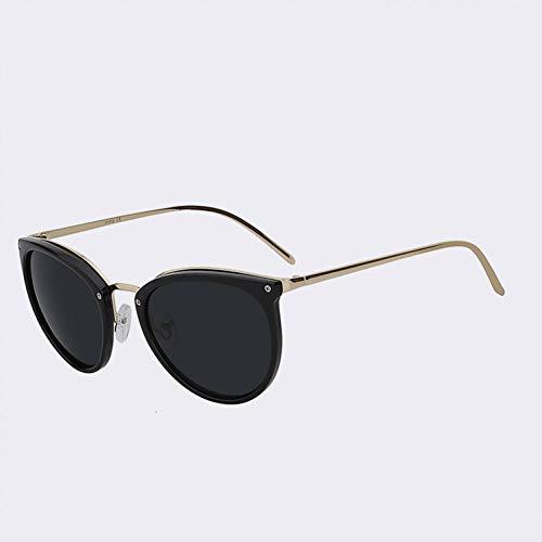 YYHV Sonnenbrille Frauen Oval Shades Frau Sonnenbrille Retro Fashion Brille Top-Qualität Brillen für den Sommer Uv400