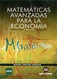 Image de Matemáticas Avanzadas para la Economía