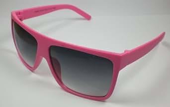 """Design moderne-lunettes de soleil-mixte-modèle """"sledge"""" rose néon uV 400 pour homme/femme"""