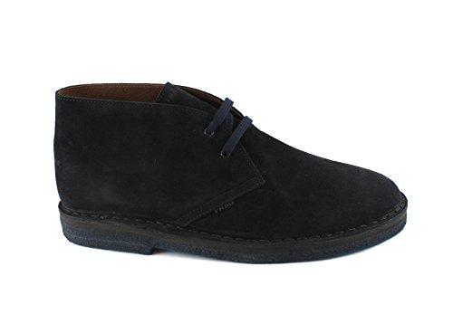 Frau chaussures bleues 25D1 chaussures de marche homme lacets cheville de type