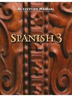 Spanish 3: Activities Manual por Virginia Layman