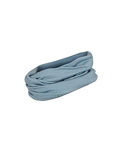 DILLING Merino Schlauchschal für Damen - Multifunktionstuch Mineralblau