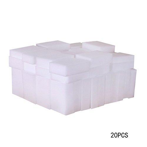 demiawaking 20pcs Magia esponja de limpieza Borrador Nano cocina esponja de limpieza de coche marca de manchas eliminación Kit