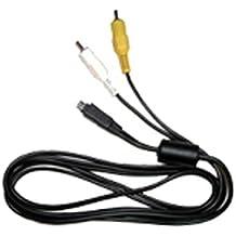 Olympus - CB-AVC3 (W) A/V cable para SP-570UZ/SP-565UZ/590UZ/620UZ/720UZ/800UZ, XZ-1, SZ-10/14/20/30MR/31MR, SH-21/25MR, TG-820/620/320