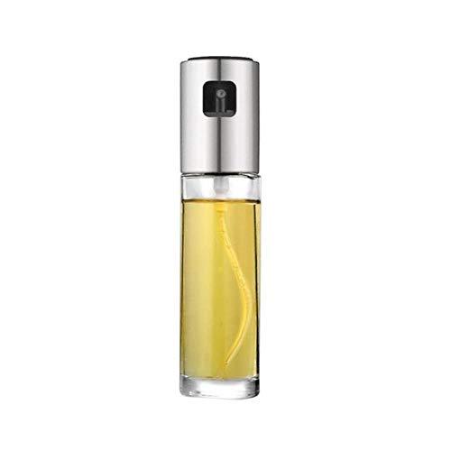 Rainandsnow 100 ML Glasflasche Olivenöl Essig Sprühflasche Sprühtopf Ölflasche Speiseölspender Flasche Salat für Küche BBQ,Zahlung