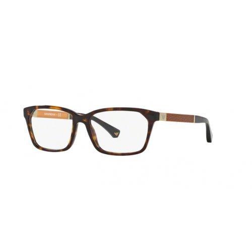 Giorgio Armani Damen 0EA 3095 5026 53 Sonnenbrille, Braun (Havana),