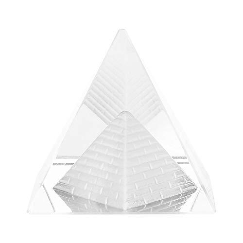 Figurine of Pyramids of Crystal Model of Pyramids of Crystal Gift of Christmas Birthday