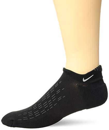 Nike U NK SPARK CUSH NS Unisex-Erwachsene Socks, Schwarz (black/Reflective/010), 44-45.5 EU (9-10.5 UK) -