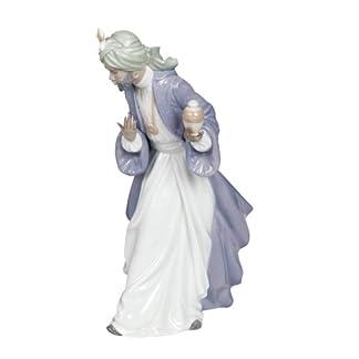 NAO Figura Rey Baltasar con Tarro. Los Reyes Magos de Porcelana