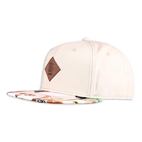 Djinns - Crazy Pattern (Cats 2.0/Stone) - Snapback Cap Baseballcap Hat Kappe Mütze Caps