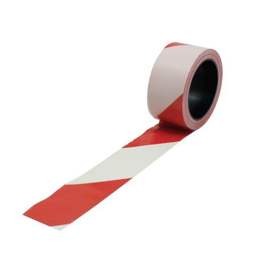 Viso RSNA01RB Absperrband 100 m, rot/weiß