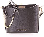 MICHAEL KORS Womens Small Trunk Xbody Bag, Black - 32H9GGHC5A