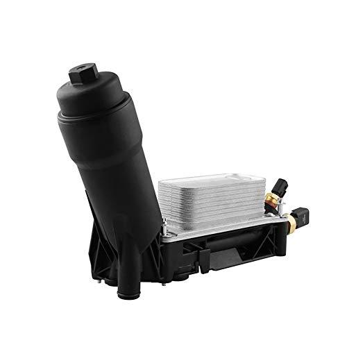 Motorölkühler Gehäuse-Filter passend für 2011-2013 Jeep Grand Cherokee, Wrangler, Dodge Challenger, Chrysler 200, 300, Town & Country 3,6 l V6 Motor