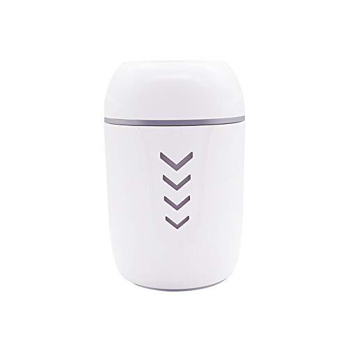 Bonon Luftbefeuchter Mini Wasserzähler Tragbare Haushalts Desktop USB Fan Nachtlicht Geburtstagsgeschenk Kleine Mini Luftbefeuchter (Color : White, Größe : Without accessories) (Luftbefeuchter Filter Platz)