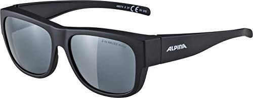 ALPINA Erwachsene Overview II P Sonnenbrille, Black matt, One Size