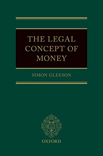 The Legal Concept of Money (English Edition)