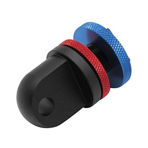 perfk Cold Shoe Mount YS Arm Adapter Für Unterwasserfotografie Gehäuse Licht Kurz Ys-mount