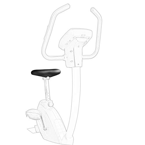 Satteln Sie Ihr Fahrrad SellOttO-II-J14 Home - Sattel breit und bequem XL Herren Damen Frauen mit Memory Foam für Heimtrainer - Ergonomish ohne Nase