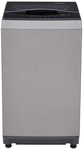 Bosch 6.5 Kg Fully-Automatic Top Loading Washing Machine (WOE652D0IN, Dark Grey)