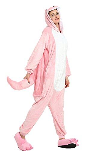 mas Kostüm Overall Tier Nachtwäsche Erwachsene Unisex Cosplay (S, PEA) ()