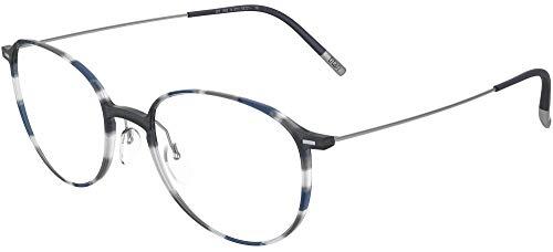 Silhouette occhiali da vista urban neo fullrim 2909 grey blue havana 51/20/0 uomo