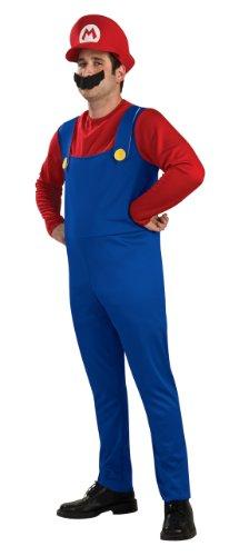 Rubie's Erwachsene Mario Fancy Kleid ()