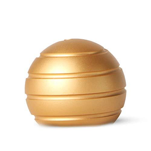 Preisvergleich Produktbild BEESCLOVER Einzigartiger Schreibtisch Spielzeug Stress Abbau Helix Spin Visuelle Illusion Metallkugel