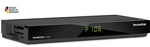 TechniSat TECHNISTAR K4 ISIO Kabel-Receiver (mit vierfach-Tuner, Picture in Picture, Picture and Picture, HbbTV, IPTV) Anthrazit