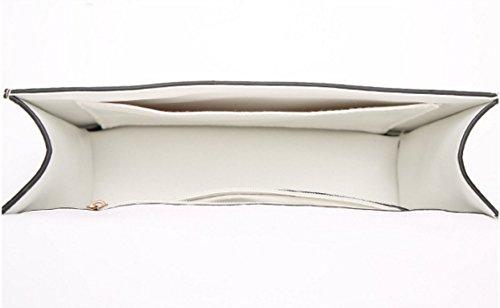 Frauen PU Fashion Small Square-Paket Handtaschen Einzelne Schulter-Umhängetasche Tasche Pink