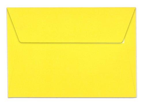 Clairefontaine 5566C - 20 Enveloppes C6 114X162 - Jaune