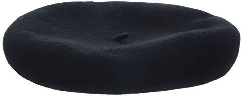Kangol Anglobasque Beret, Noir-Noir, Large Homme