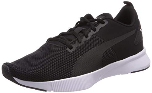 Puma Flyer Runner, Zapatillas de Running Unisex Adulto, Negro Black Black White, 42.5 EU
