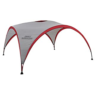 Coleman Gazebo Shades of Rock 4.5 x 4.5 m, Event Shelter for Festivals, Garden and Camping, sturdy steel poles construction, large Event tent, portable sun shelter with sun protection SPF 50+