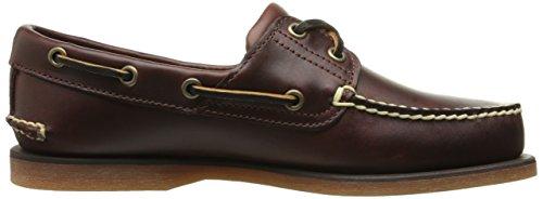 Timberland 25077, Chaussures Bateau Homme Marron (Rootbeer Smooth 25077)