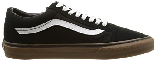 Vans U Old Skool, Baskets Basses Mixte Adulte Noir (Gumsole/Black/Medium Gum)