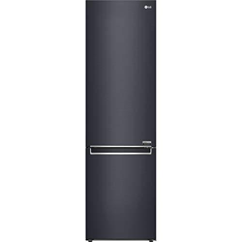 LG CentumTM GBB92MCBKP 70/30 Frost Free Fridge Freezer - Matte Black