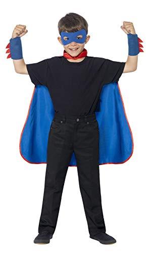 Smiffy'S 44329 Kit De Superhéroe Con Capa
